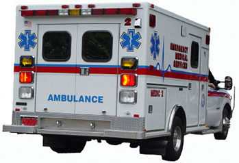 Photo of EMS Vehicle